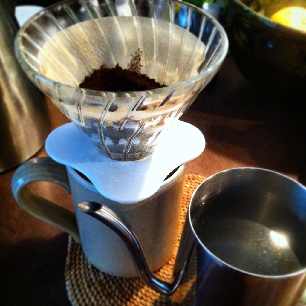 Manual pour over coffee Hario V60